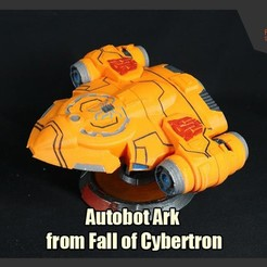 Download 3D model Autobot Ark from Fall of Cybertron, FunbieStudios