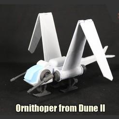 Download 3D printing files Ornithoper from Dune II, FunbieStudios