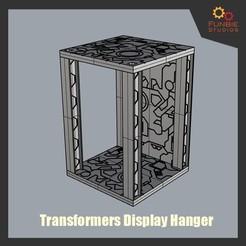 3D printer files Transformers Hanger Display Base, FunbieStudios