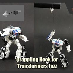 Descargar modelos 3D gratis Gancho de agarre para transformadores Jazz, FunbieStudios