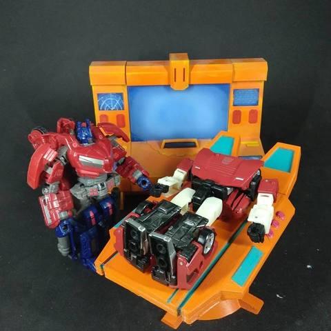 Free 3D print files Transformers Generation 1 - Autobot Ark Med Bay , FunbieStudios
