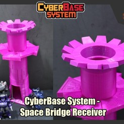 Download STL [CyberBase System] Space Bridge Receiver, FunbieStudios