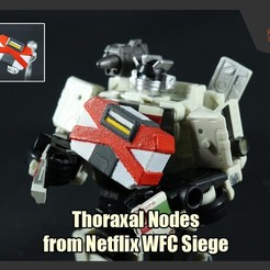 Download free 3D printer templates Thoraxal Nodes from Netflix Transformers WFC Siege, FunbieStudios