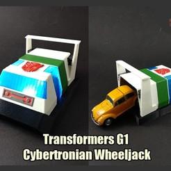 Descargar archivos STL Transformadores G1 Cybertronian Wheeljack, FunbieStudios