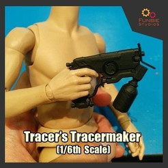 Download free 3D printing models Tracer's TraceMaker (1/6th Scale) from Overwatch, FunbieStudios
