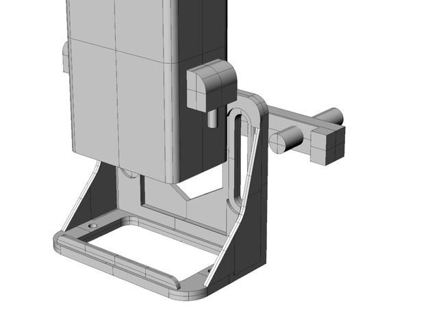 5ac88a37f39e2d9148cbe1440e15c88e_preview_featured.jpg Download free STL file Delta Jhead holder for PowerWASP EVO • 3D print design, italymaker