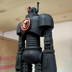 Télécharger modèle 3D gratuit ITALYrob - robot officiel de la mascotte ITALYmaker, italymaker