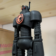 Download free STL file ITALYrob - Official ITALYmaker mascot robot • Model to 3D print, italymaker