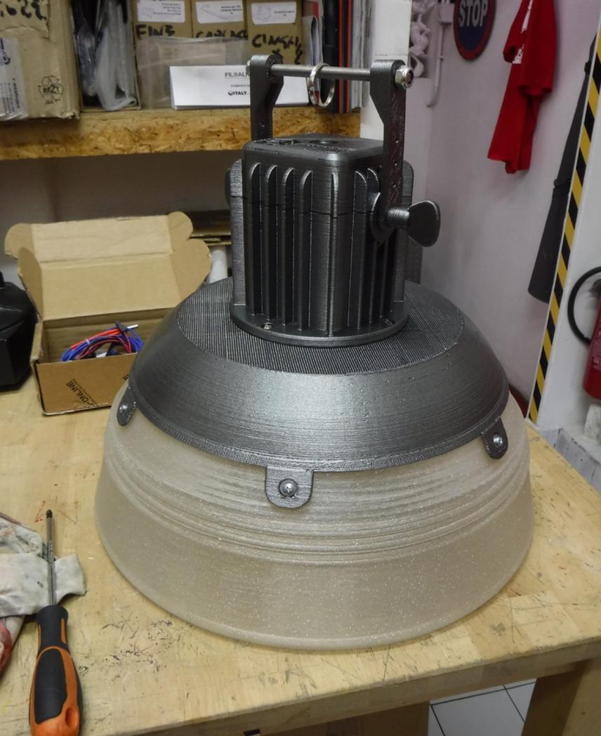 Capture d'écran 2017-06-06 à 16.04.25.png Download free STL file Industrial Lamp - 3D printed • Object to 3D print, italymaker