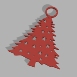 Photo sapin 3.png Download STL file Christmas tree decoration • 3D printing model, Lumia