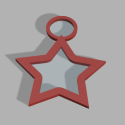 Photo etoile m.png Download STL file Christmas decoration star • 3D printing template, Lumia