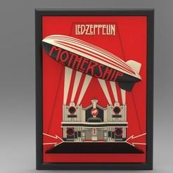 1.jpg Télécharger fichier STL Led Zeppelin • Objet pour impression 3D, VallaV