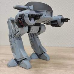 Download STL Robocop ED-209, VallaV