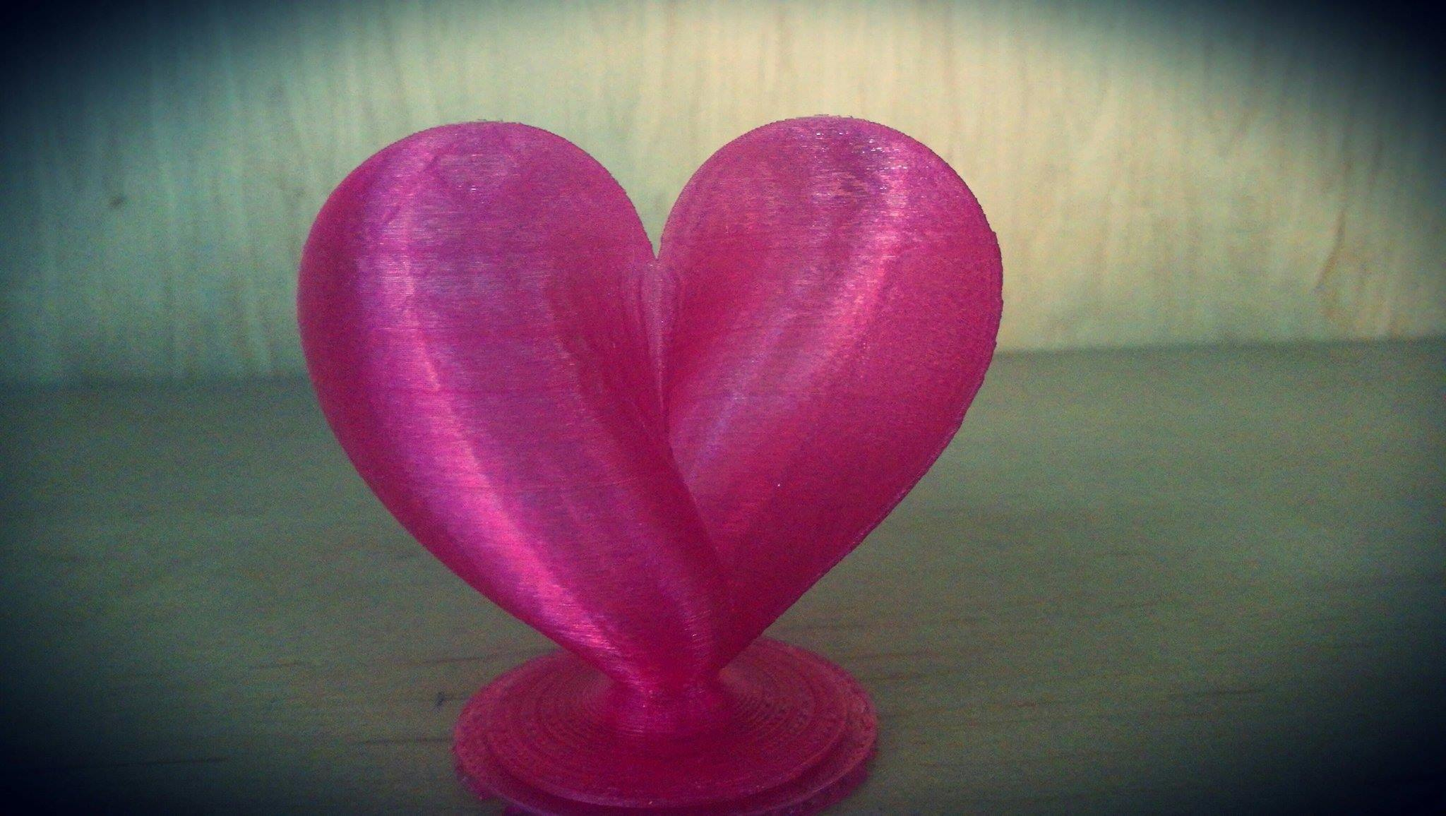 16805409_1328378217227172_184668841_o.jpg Download free STL file Heart  • 3D printing template, MakePrintable