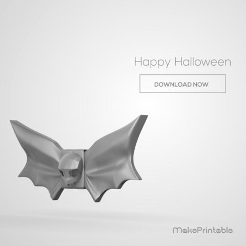 instagram_00000 (2).png Download free STL file Bat Bow Tie • Design to 3D print, MakePrintable