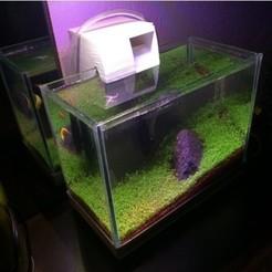 Download free 3D printing designs Aquarium Hang-On Waterfall Filter, halimuygun