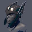 Descargar STL Thor Ragnarok Helmet, BlackHawk