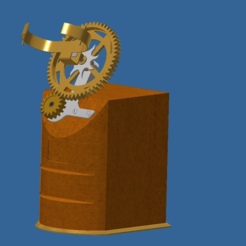Ensemble1.PNG Download free STL file Recharge a mechanical watch • 3D printable object, BOUVERAT3DPrint