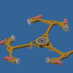ancre2.PNG Download free STL file Ancre-spinner • 3D printer model, BOUVERAT3DPrint
