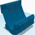 3D printer models smart phone holder, Ingo