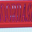 3D printer files doordash, Ingo