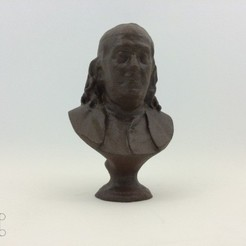 ben-frank-1_preview_featured.jpg Télécharger fichier STL gratuit Benjamin Franklin • Plan pour imprimante 3D, isaac