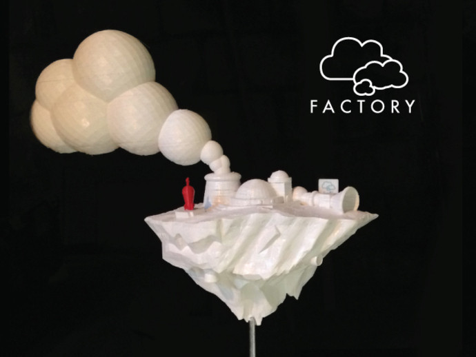 cloud-fact2_preview_featured.jpg Download free STL file Cloud Factory • 3D printable model, isaac