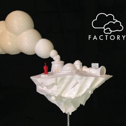 Descargar STL gratis cloud Factory, isaac
