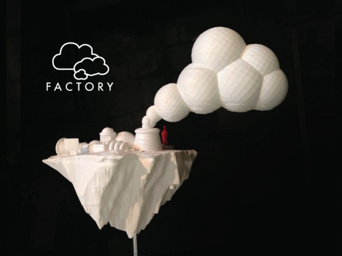 cloud-fact3_preview_featured.jpg Download free STL file Cloud Factory • 3D printable model, isaac
