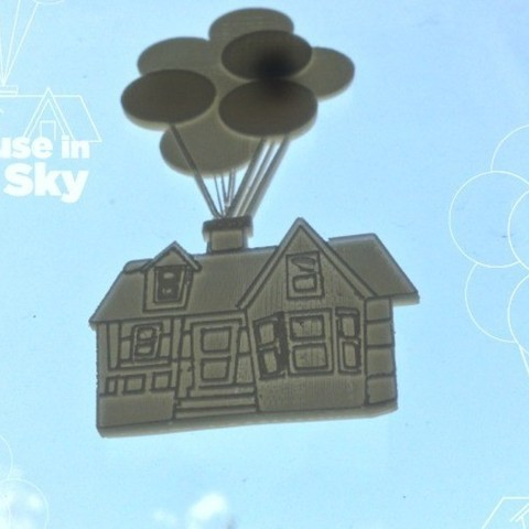 house-in-sky-4_preview_featured.jpg Download free STL file House in the Sky • Object to 3D print, isaac