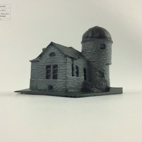 Free 3d printer model Holden Observatory, isaac