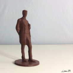 Free Abraham Lincoln: The Man (Standing Lincoln) 3D printer file, isaac