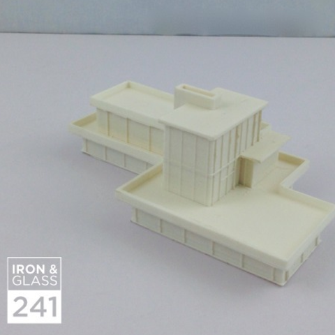 Download free 3D printing templates Iron & Glass House, isaac