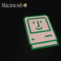 Free 3D printer file Macintosh 8-Bit, isaac