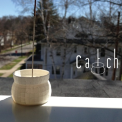 Download free STL Catch | Sensible Incense Holder, isaac