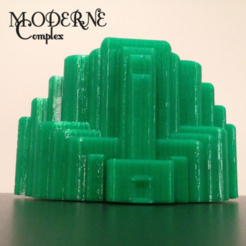 Free 3D printer model Moderne Complex, isaac