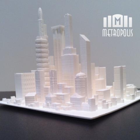 diseños 3d gratis Metrópolis, isaac