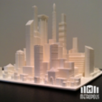 Free 3d print files Metropolis, isaac
