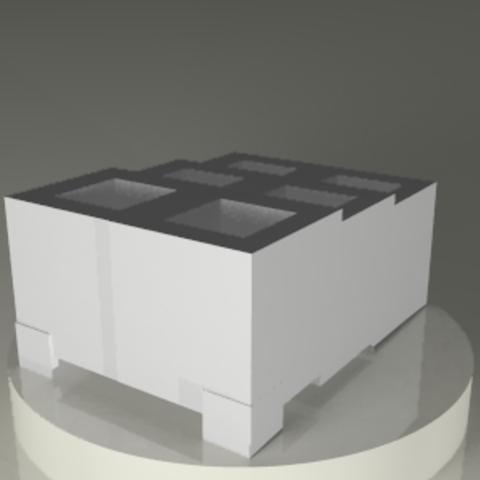 base3.png Download STL file Planter • 3D printer design, PLAmarket3D