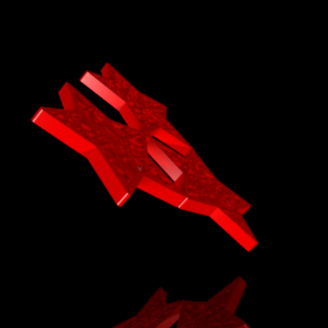 Download STL file Star pendant • 3D printable design, PLAmarket3D