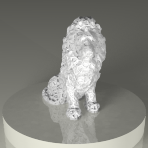 Download STL file Lions • 3D printing object, PLAmarket3D