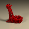 candelabro_jirafa.png Download STL file Giraffe candle holder • Design to 3D print, PLAmarket3D