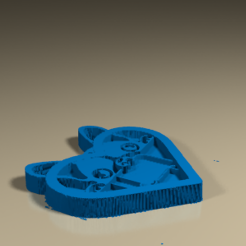 Download STL file Dog_Colgante • 3D print template, PLAmarket3D