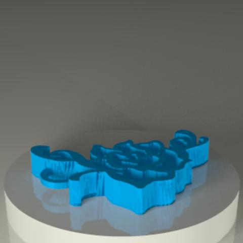 Download STL file Rose_colgante • Design to 3D print, PLAmarket3D