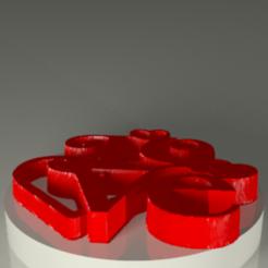 Download STL file Sees it • 3D printable template, PLAmarket3D