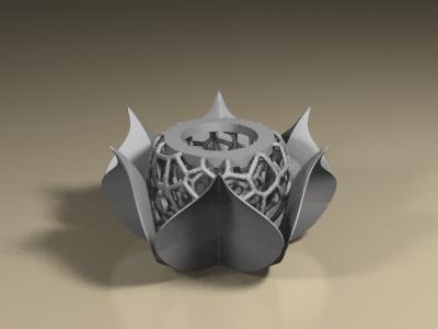 portavelas.png Download STL file Candleholder • 3D printer model, PLAmarket3D