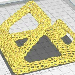 voronoi phone stand.JPG Télécharger fichier STL voronoi Téléphone • Objet imprimable en 3D, venutalupula