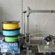 Download free STL file spool holder for several spool filament, JOHLINK