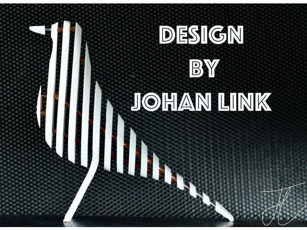 c516043905562d146de10b71d7dc5060_preview_featured.jpg Télécharger fichier STL Sculpture d'oiseaux • Modèle pour impression 3D, JOHLINK