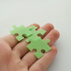 Download free 3D printing templates puzzle, JOHLINK
